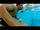Freestyle kayak in swimming pool, flatwater. Каякинг в бассейне.
