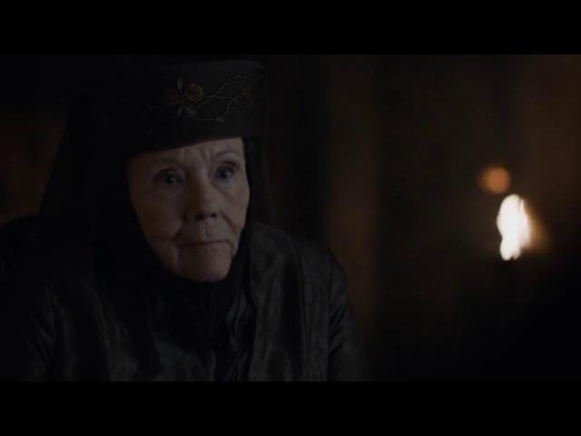 Olenna Tyrell advises Daenerys Be a dragon - Game of Thrones Season 7