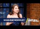 Shailene Woodley Protested Alongside Malia Obama