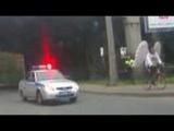 Погоня полицейских за ангелом
