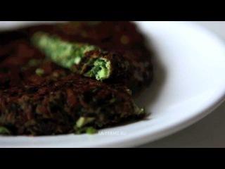 Кюкю сабзи со свежей зеленью (کوکوسبزی, Kuku Sabzi) иранский восточный рецепт иранская восточная кухня как готовить блюдо