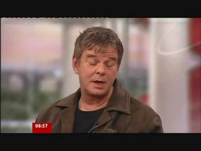 JJ Burnel Baz on BBC1 Breakfast