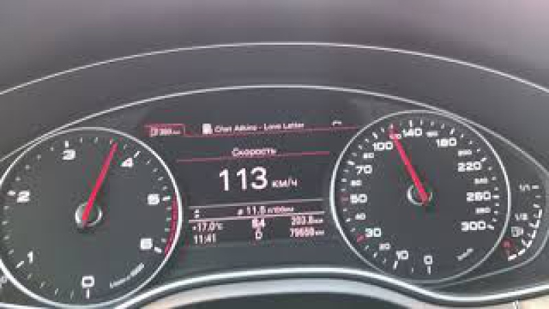Audi A6 C7 3.0TDI stage 3 by Dieselboost 380 л с