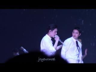 [HD FANCAM] 170211 EXO Lay Zhang Yixing 张艺兴 & DO - One and_only @ The EXO'rDium in Hong Kong day 1