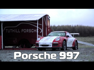 О машинах с Крисом Харрисом / Chris Harris on Cars - Porsche 997 RGT Rally, by Tuthill [BMIRussian]