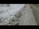Бийские тротуары зимой