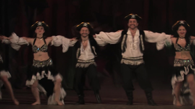 Арабский танец Морское приключениеХореография и костюм А.Бурынина(Халиф)