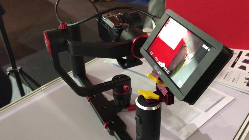 IBC 2017 Монитор для трехосевого стабилизатора
