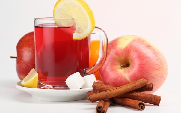 Напиток яблоко с корицей для похудения