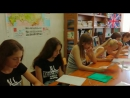 В летней школе мы не только изучали английский, но и поговорили по итальянски с нашей гостьей из Италии Федерикой ди Сарио.