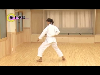 Shotokan Кarate Video Program part-1 with Takahashi Yuko Instructor Karate JKA (Japan) for 9-7 Kyu