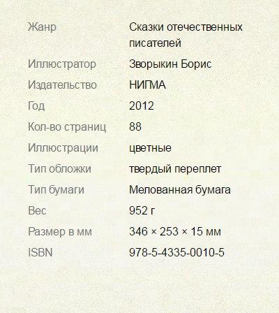купить русские сказки красивые