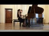 Й.Брамс Венгерский танец Des-Dur. Э.Лекуона Малагенья