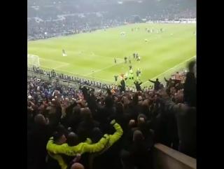 Ajax in Gelsenkirchen last night. The Stewards