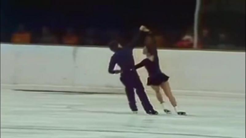 Людмила Пахомова и Александр Горшков...