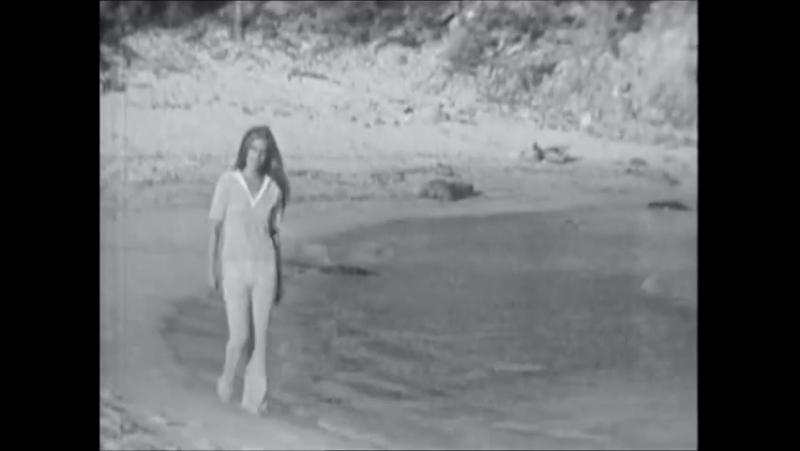 Dalida sur la plage de Fautea à Porto-Vecchio ♪ 1971