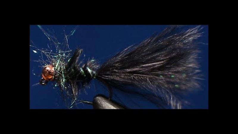 Мушка на всю рыбу - Минилич (mini leech fly pattern)