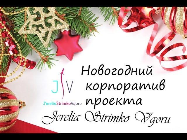 Новогодний корпоратив проекта Jerelia Strimko Vgoru