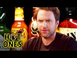 Charlie Day Learns to Love Ridiculously Spicy Wings   Hot Ones