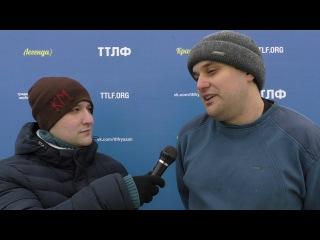 Флеш-интервью Ивана Халамцева - вратаря команды «Две совы»