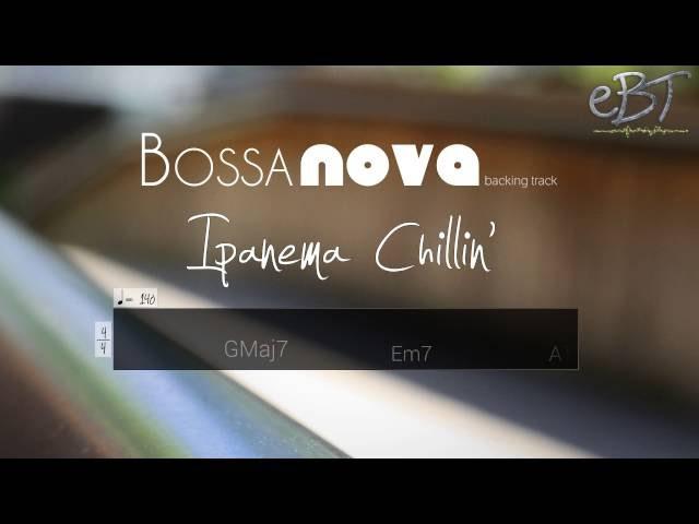 Bossa Nova backing Track in D Major | 140 bpm