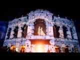 Сучасна «Зимова казка» на будівлі Національної опери України #Опера #Київ #Україна #Opera #Kyiv #Ukraine #3D