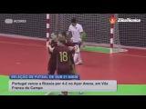Товарищеские матчи. Португалия (U21) - Россия (U21). Игра №1. 4:2. Обзор.