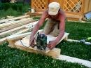 Строительство беседки на даче