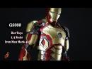 Hot Toys 1/4 Scale QS008 Iron Man Mark XLII 42
