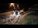Маз в снежном плену