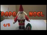 Papa Noel Amigurumi a crochet Parte 12