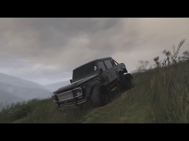 Нескучные Автомобили GTA 1.1. Dubsta 6x6, Entiti XF, Classic Turismo vs Classic Infernus