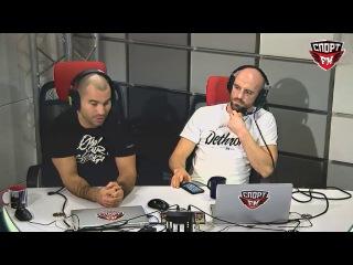 Артем Лобов, Али Багаутинов и Питер Куилли в гостях у