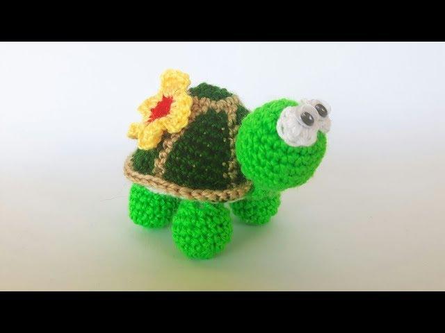 Tartaruga Uncinetto Amigurumi Tutorial - Turtle Crochet -Tortuga (Eng Sub)