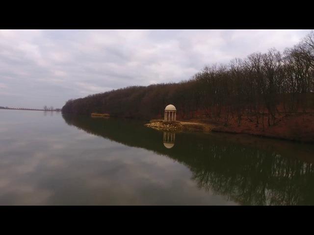 Живописное озеро Молдаванка