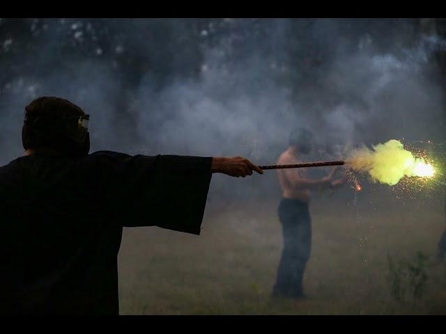 Roman Candle War (Harry Potter Wand War)