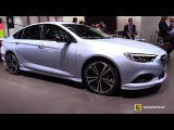 2017 Opel Insignia Grand Sport - Exterior and Interior Walkaround - 2017 Geneva Motor Show