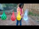 90 Mins Colours Balloons Wet Compilation Water Balloon Finger Nursery Song Collection P1