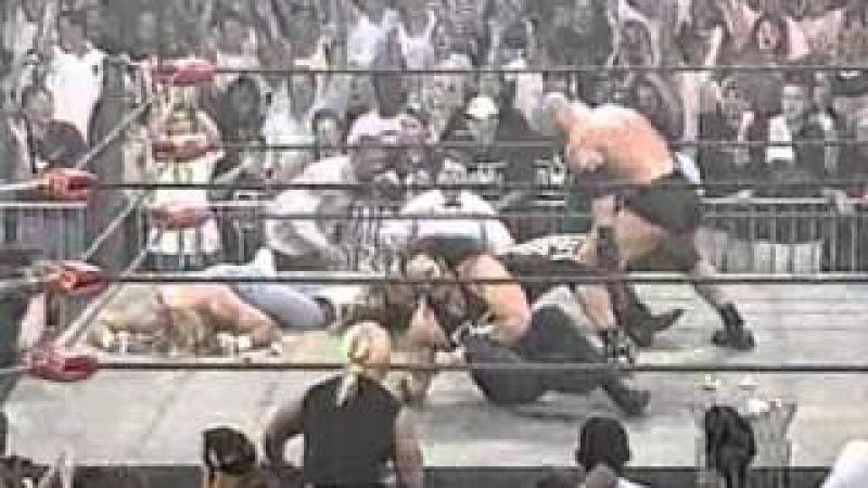 WCW Nitro: June 22nd 1998: Goldberg destroys nWo Hollywood