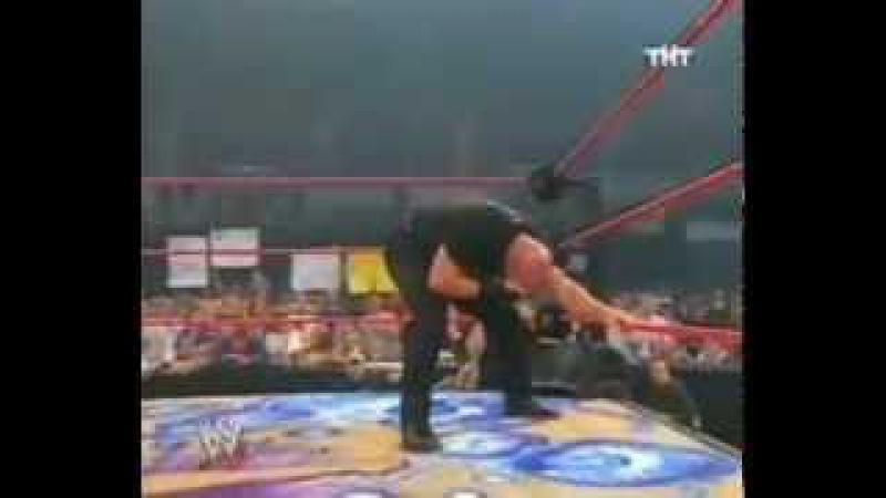 WWE / Голдберг на шоу Криса Джерико/ RAW 2003/05/26 [Фоменко]