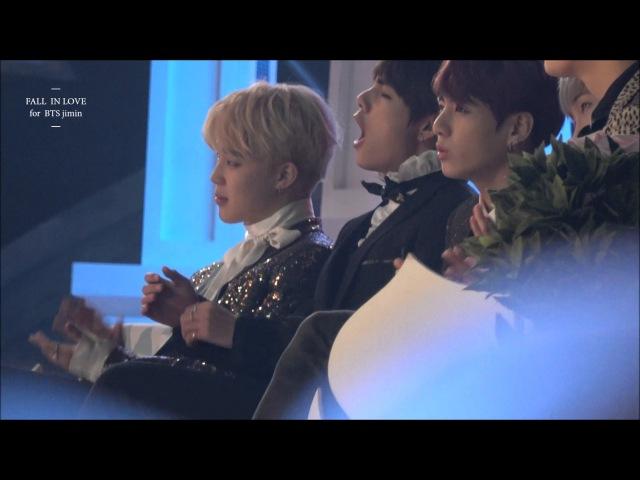 161119 Melon Music Award 방탄소년단 BTS Reaction to IOI performance2