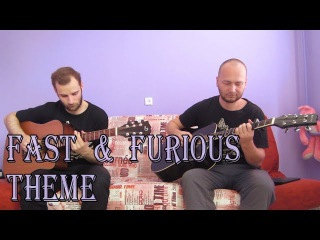 Fast & Furious theme (acoustic guitar cover, tabs)