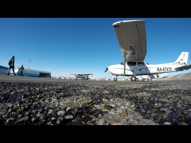 Лётная практика СПбГУГА (Cessna 172S)