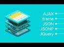 Оживляем веб с помощью JQuery AJAX JSON JSONP и iframe GeekBrains