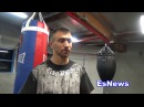 Boxing Superstar Vasyl Lomachenko In Camp With UFC Superstar TJ Dillashaw EsNews Boxing
