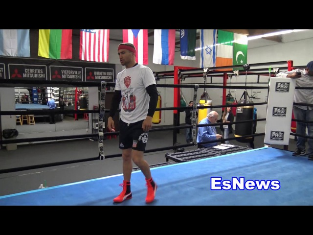 Vasyl Lomachenko Full Workout Impressive Footwork and Hand Speed EsNews Boxing