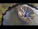Дырявое водохранилище Кончос в Португалии