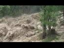 Ужасно смотреть, селевые потоки с гор. Debris flows from the mountains,