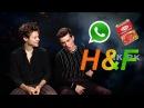 Harry & Fionn // Whatsapp and corned beef
