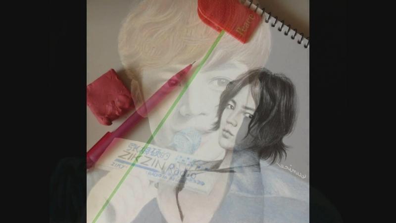 EunicePark 🎨 My 100 Jang Keun Suk drawings